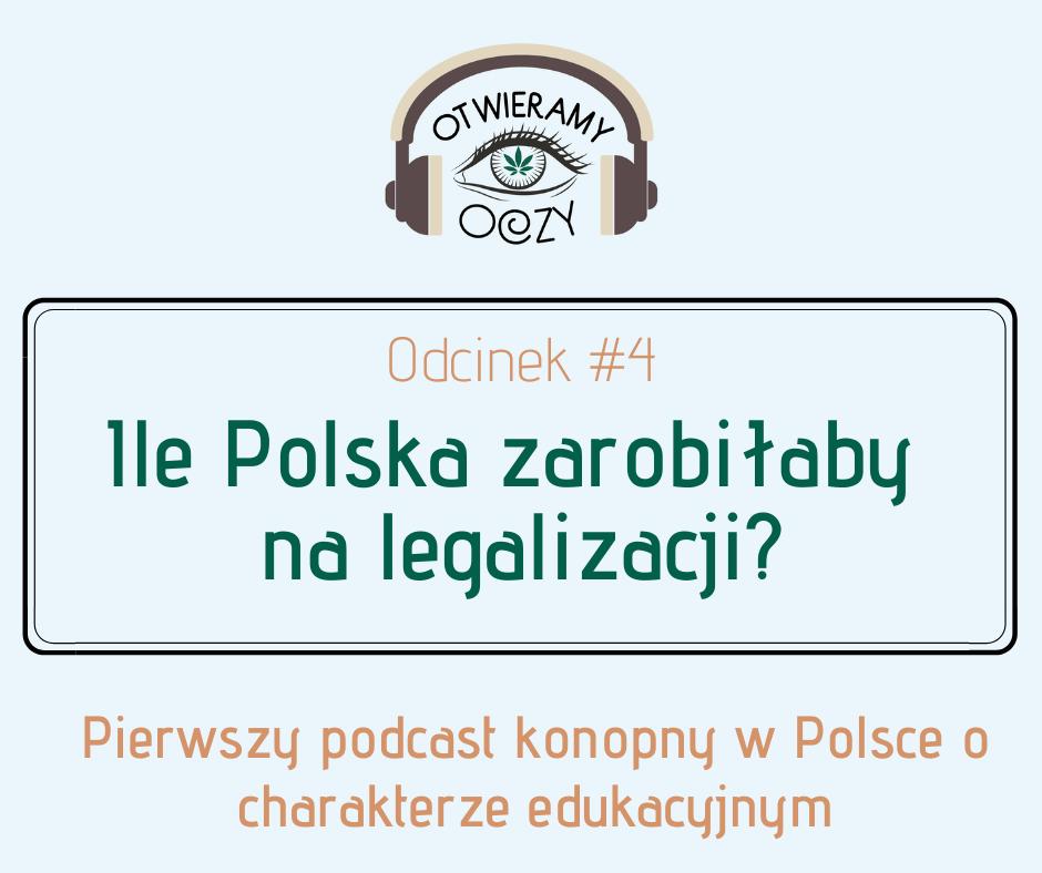 #4 Ile Polska zarobiłaby na legalizacji? – Mateusz Zbojna