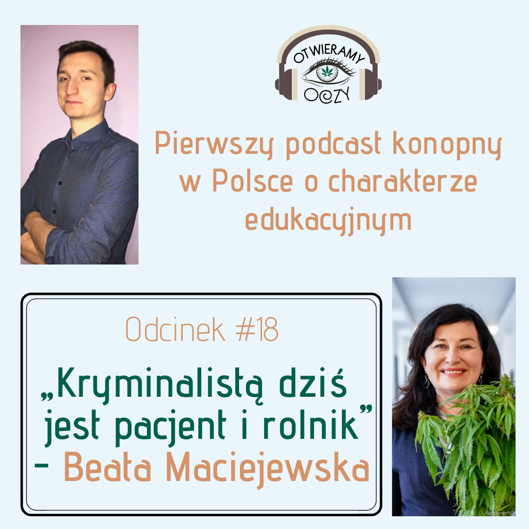 #18 Kryminalistą dziś jest pacjent i rolnik – Beata Maciejewska